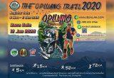 งานวิ่ง เชียงใหม่ รายการ The Opluang Trail 2020 / งานวิ่งออบหลวงเทรล 2020 วันอาทิตย์ที่ 12 มกราคม 2563 ณ ณ สนามกีฬาเฉลิมพระเกียรติ 80 พรรษา ต.ท่าข้าม อ.ฮอด จ.เชียงใหม่ ปิดรับสมัครทางระบบรันลา 25 ธันวาคม 2562