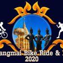 งาน Chiangmai Bike Ride and Run 2020 กิจกรรม วิ่ง และ ปั่นจักรยาน ออกจากศาลาอ่างแก้วไปยังวัดพระธาตุดอยสุเทพ รวมระยะทาง 12 กม