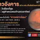 """ดาวอังคารใกล้โลก (Mars Close Approach & Mars Opposition 2020) ณ NARIT สถาบันวิจัยดาราศาสตร์แห่งชาติ วันพุธที่ 14 ตุลาคม 2563 """"ดาวอังคารอยู่ตำแหน่งตรงข้ามดวงอาทิตย์"""" เริ่มเวลา 18:00 - 22:00 น."""