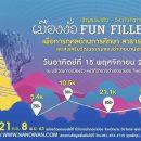 งาน เมืองงั่ว Fun Filled ครั้งที่ 2 วันอาทิตย์ที่ 15 พฤศจิกายน 2563 ณ กาดเมืองงั่ว หน้าที่ว่าการอำเภอนาน้อย จ.น่าน