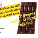 Chocolate Festival Chiang Mai design week 2020 5-13 December 2020 Open all days 10:00 AM - 8:00 PM At Aimmika Chocolate