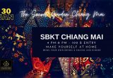 SBKT Chiang Mai 1st Edition 4PM-8PM 30 January 2021 at The Secret Garden Chiangmai only 100 baht Make you self at home
