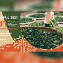 ชา กับ การพัฒนาอย่างยั่งยืน เรียนรู้ ครบเครื่อง เรื่องชา ในเทศกาลเที่ยวเชียงใหม่ และสัมนาพิเศษ ในงาน Chiangmai Roots Agro - Gastronomy 2021 วันศุกร์ที่ 9 เมษายน 2564 ณ ศูนย์วัฒนธรรมเชียงใหม่ ถนนวัวลาย