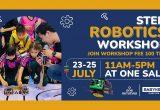 ONE NIMMAN STEM ROBOT WORKSHOP 23-25 กรกฏาคม 2564 เวลา 17.00 น. ที่ ONE NIMMAN